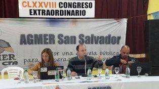 Agmer aceptó la propuesta salarial del Gobierno ¿Fin del conflicto?