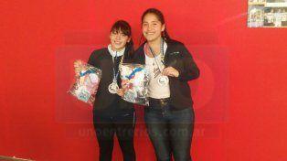 La paranaense Ivana Arrúa a paso firme pensando en el Mundial Juvenil de Padel