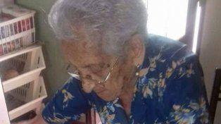 Marciana cumplió 100 años y cuenta su dieta