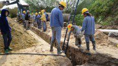 varisco inicia una mega obra cloacal que beneficiara a 14 mil familias