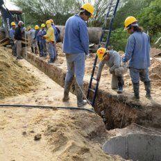 Varisco inicia una mega obra cloacal que beneficiará a 14 mil familias