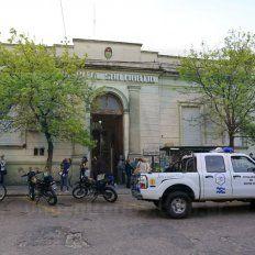 Dolor familiar. Hoy a las 17, se confirmó que el menor dejó de existir en el San Martín.