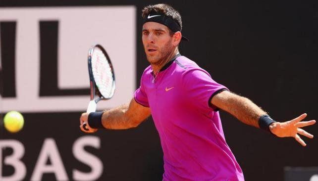 Del Potro perdió y está en duda para Roland Garros
