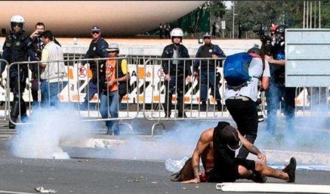 Tensión en Brasilia: Temer sacó el Ejército a la calle tras una multitudinaria marcha