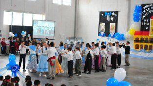 Emotivo acto. En la escuela Santa Teresita participaron alumnos