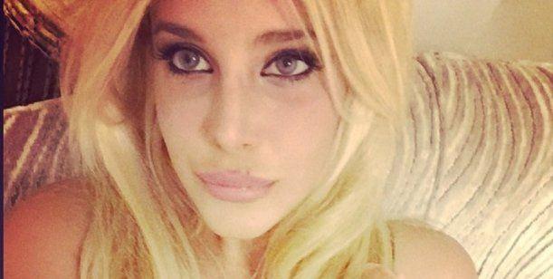 Charlotte Caniggia reapareció y estrenó su nuevo rostro