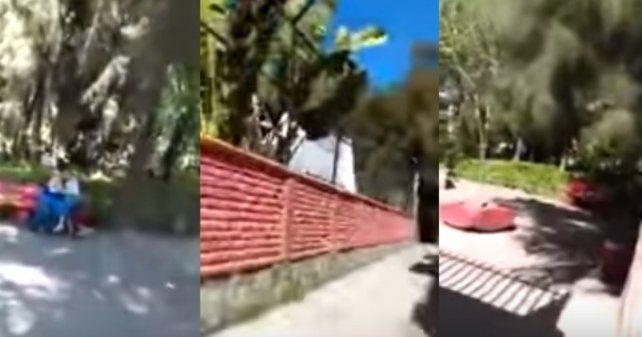 El video se difundió por las redes.