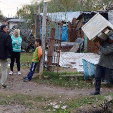 Los funcionarios recorrieron la zona. Foto Municipalidad de Concepción del Uruguay.