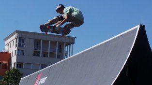 Aaron Ríos salió subcampeón mundial de skate en categoría amateur