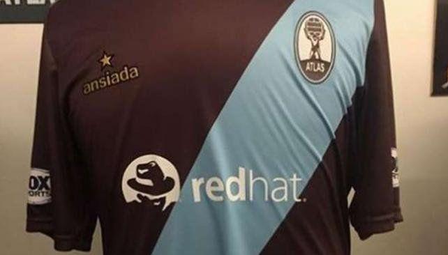 Atlas utilizará una camiseta especial para enfrentar a River