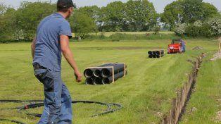 Birraducto: construyeron una tubería de cerveza en un pueblito alemán
