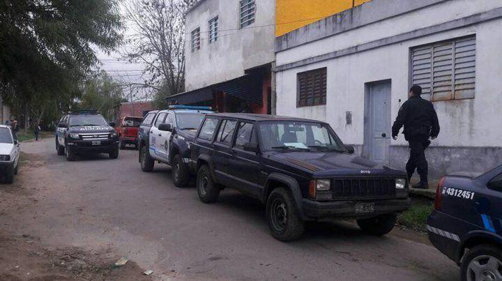 Allanamientos en Paraná.