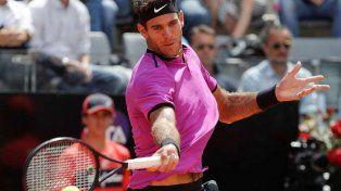 Del Potro debutó con un triunfo frente a Pella en el Roland Garros