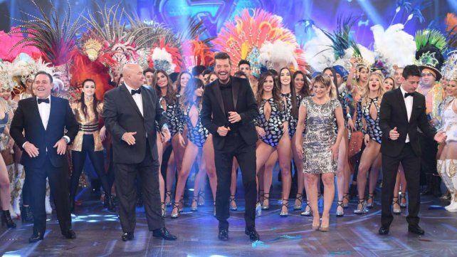 Marcelo Tinelli volvió a la TV con ShowMatch  y un pico de casi 30 puntos de rating