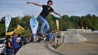 Manual en el skatepark. Foto GentilezaConstanza Soneira.