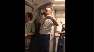 El azafato de Ryanair Javier Otero