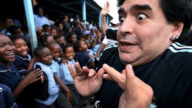 Video: Maradona se descontroló, contó intimidades de Claudia Villafañe y la amenazó