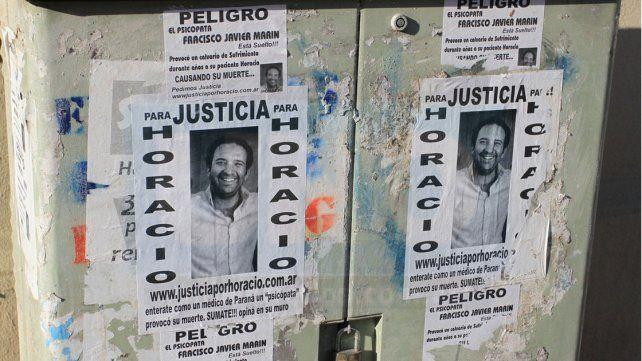 Víctima. Horacio Eyssartier había sido tratado durante 11 años.