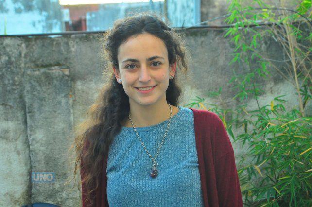 Nadia Burgos. Foto UNO Juan Manuel Hernández.