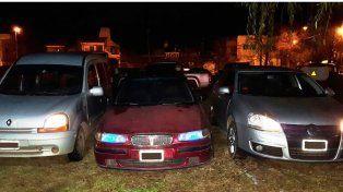 Secuestraron tres autos que pertenecerían a la banda narco del Tavi Celis