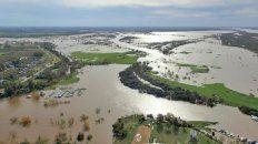 Vertedero abierto. El agua avanza en la provincia y los escenarios al mediano plazo no son alentadores.