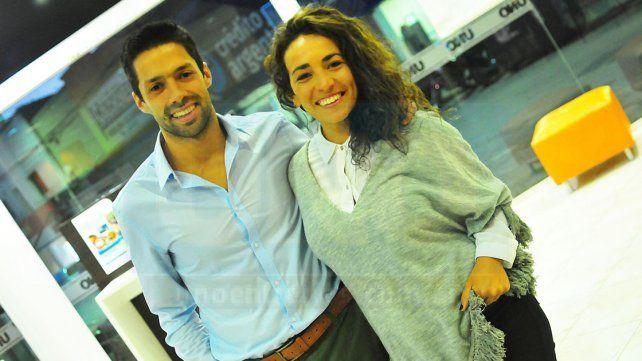 Lorenzón y Díaz estuvieron presentes en Villa Elisa disputando y disfrutando de su estreno en dua.