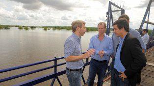 Creciente del río Uruguay: El ministro Frigerio llegará este viernes a Entre Ríos