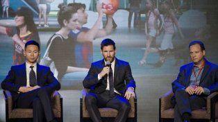 Messi inauguró un parque de diversiones con su nombre