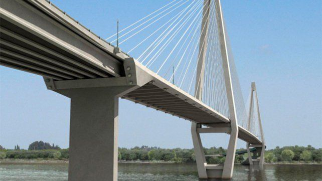 Ya está definida la traza del puente Paraná-Santa Fe