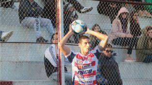 Leonardo Morales volverá a ser el lateral por derecha mañana en Campana.