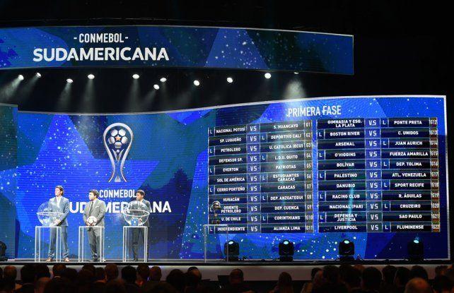 Siete equipos argentinos en carrera en la Copa Sudamericana