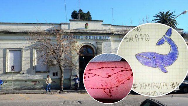 Paraná: influenciado por la ballena azul, un pibe intentó quitarse la vida