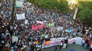 Miles de mujeres de todo el país se movilizan contra la violencia machista