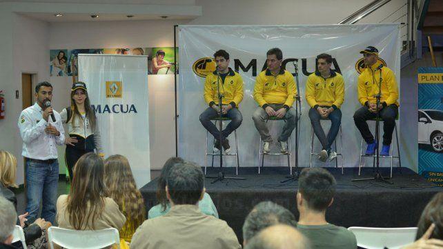 El Team del Rombo está en Paraná para participar del TC 2000