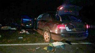 Tres personas murieron en un choque frontal en la ruta nacional 14