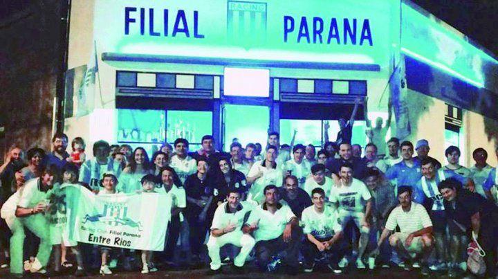 Racing tiene 71 socios en Paraná