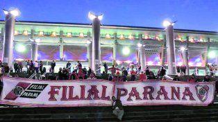 Según la Filial Hernán Díaz River tiene 400 socios en la capital entrerriana.