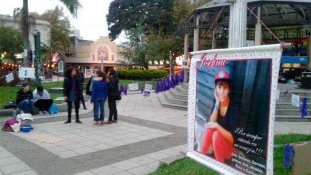 #NiUnaMenos en Concordia: Exigieron justicia por el crimen de Josefina López