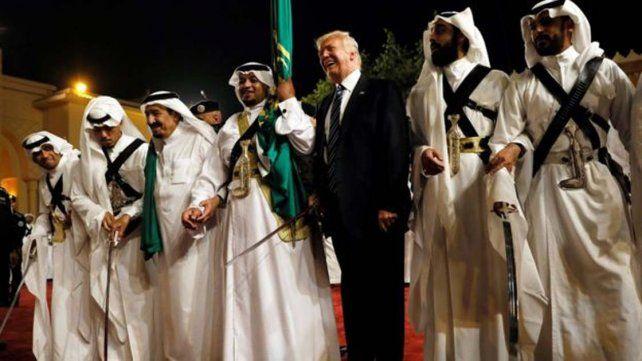 Trump eligió a Arabia Saudita como el destino de su primer viaje oficial como presidente de Estados Unidos.