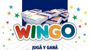 Controlá los números del Wingo