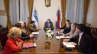 Bordet anunció el principio de un acuerdo en torno a los terrenos de la agrotécnica de Colón