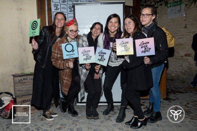 Las diseñadoras argentinas se sumaron a la Revolución Mundial de la Moda.
