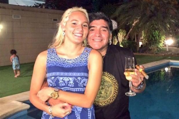 Maradona no tiene paz: apareció un video hot de Rocío Oliva