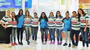 Las representantes del AEC tuvieron un aceptable debut en el TRL Femenino.