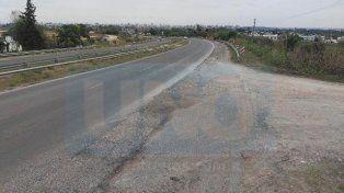 Vecinos piden un tercer carril y una bajada desde acceso Norte hacia calle López Jordán