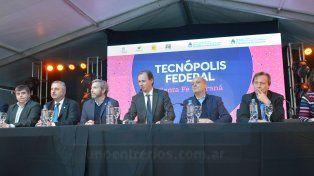 Autoridades locales y nacionales inauguraron Tecnópolis Federal en Paraná