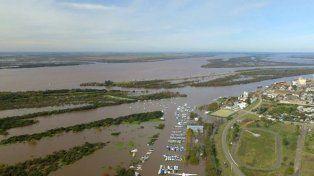 El río Uruguay.