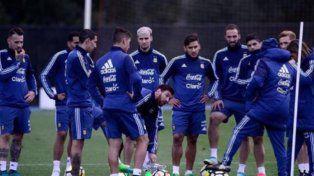 Los once de Sampaoli para enfrentar a Brasil
