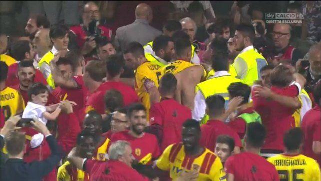 Benevento logró el ascenso y jugará por primera vez en la Serie A