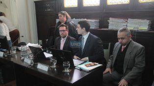 Mazzaferri escuchó las declaraciones de los testigos. Foto UNO Juan Ignacio Pereira.